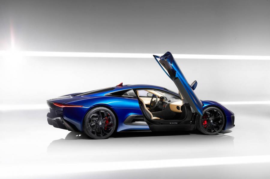 Jaguar CX-75 Concept Car