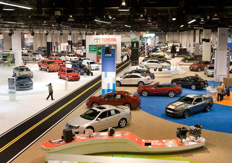 List Of Nations Best Auto Shows In The United States - Automotive show