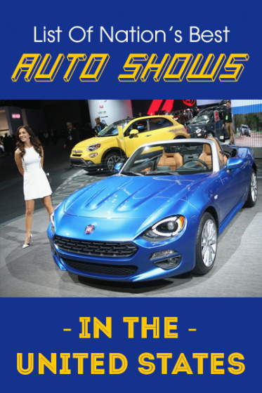 List Of Nation's Best Auto Shows In The United States banner