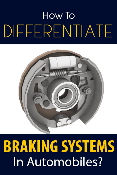 How To Differentiate Braking Systems In Automobiles banner