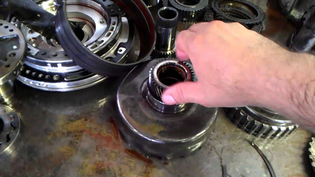 How To Fix The Ford 4r100 Transmission Problems E4od Mlps Wiring Diagram 1 Slipping Of During Gear Shift