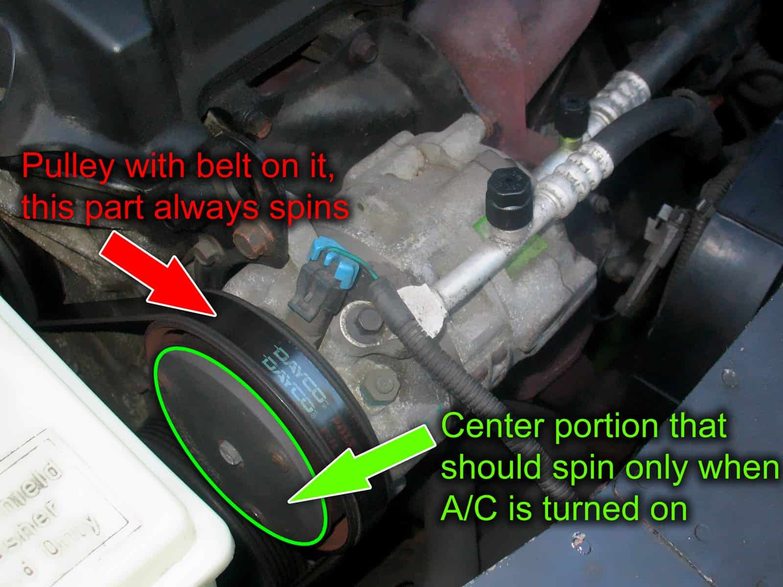 What Should I Do If Ac Compressor Clutch Is Not Engaging 02 Escape Fuse Box