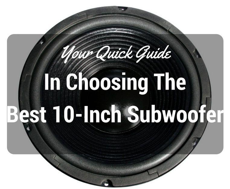 Best-10-inch-Subwoofer