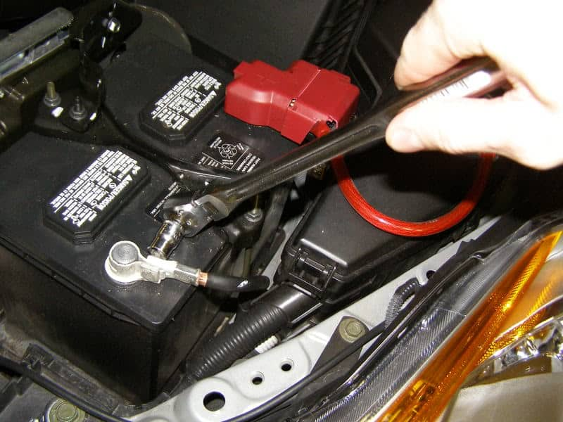 Nissan Altima Battery Terminal Replacement