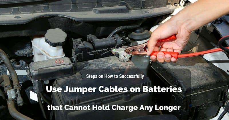 Steps on How to Successfully Use Jumper Cables on Batteries