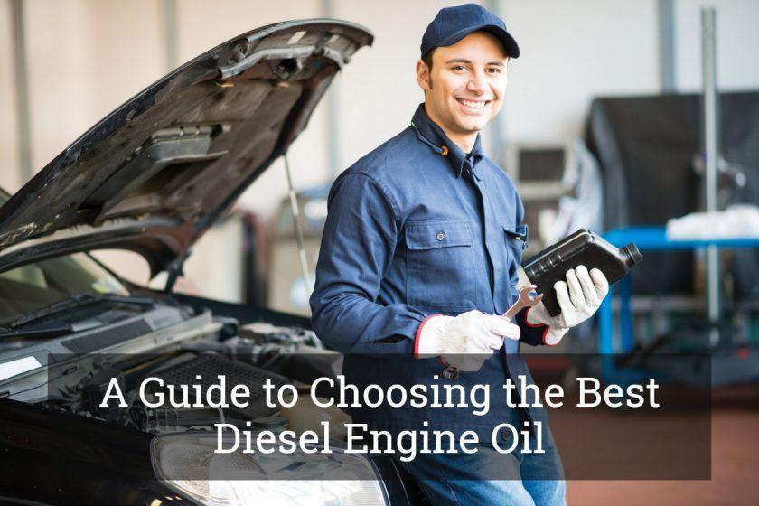 Best Diesel Engine Oil