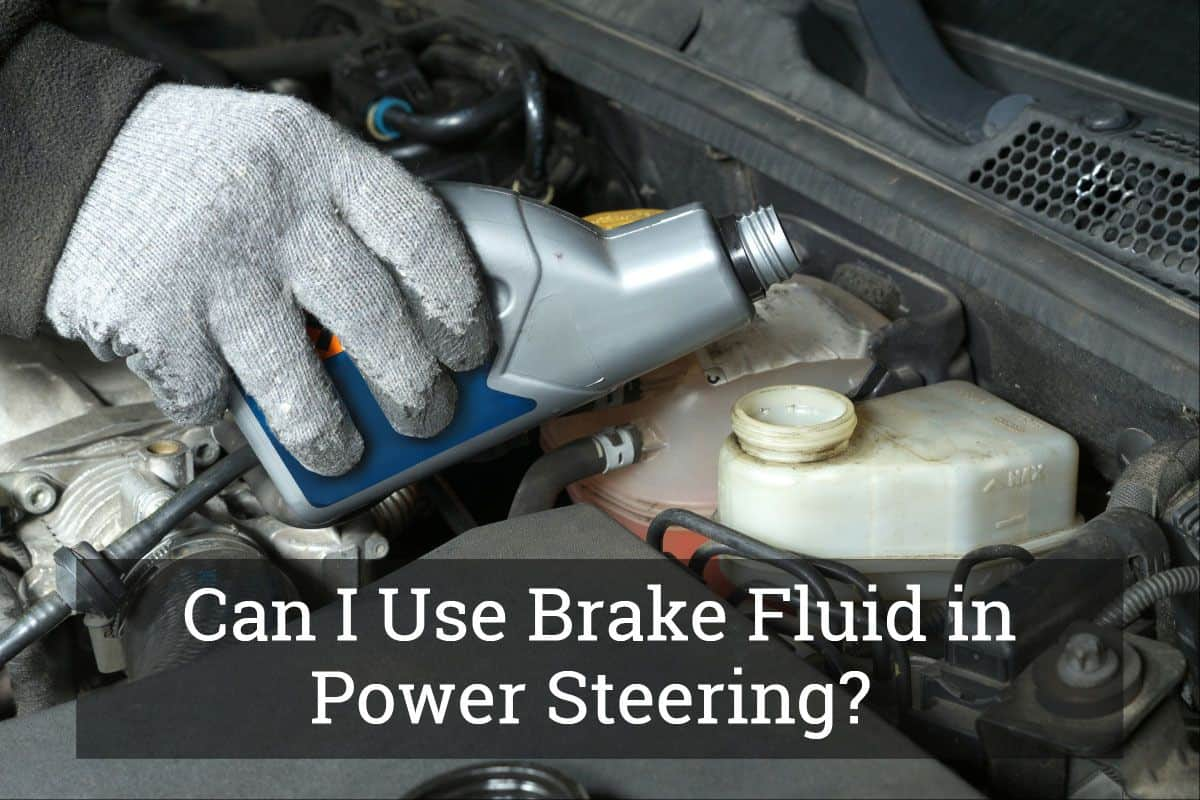 Brake Fluid In Steering