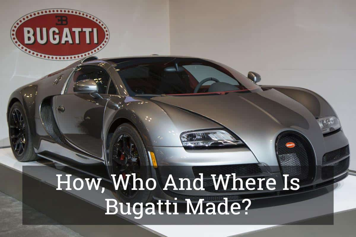 What country are bugattis made in