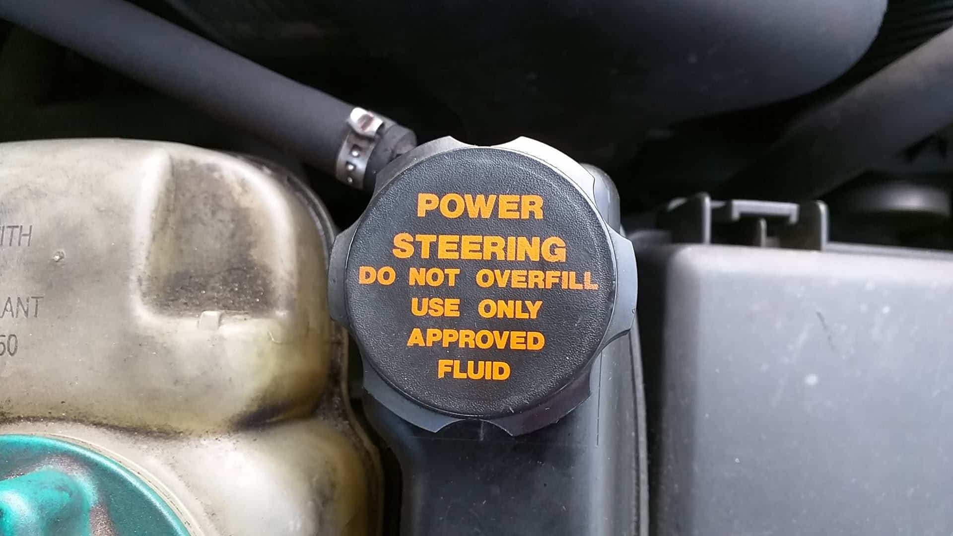 nissan xterra power steering fluid flush