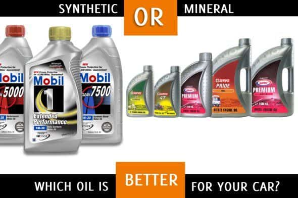 Synthetic Oil Vs Regular Oil >> Synthetic Oil V S Mineral Oil Which Option Will You Choose