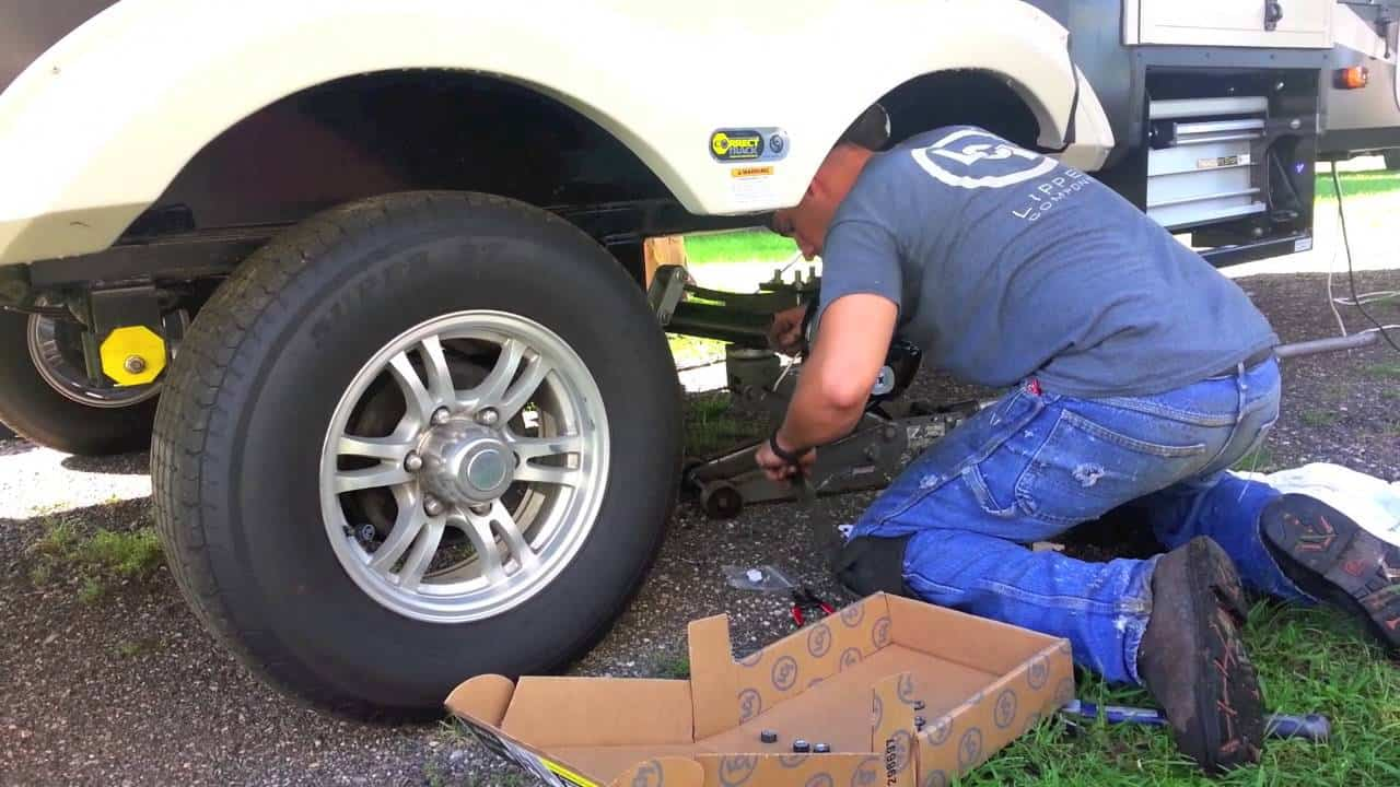 Maintain your RV's brakes