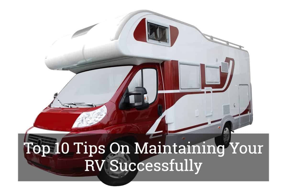 Maintaining Your RV
