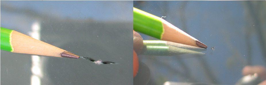 fix spider crack in windshield