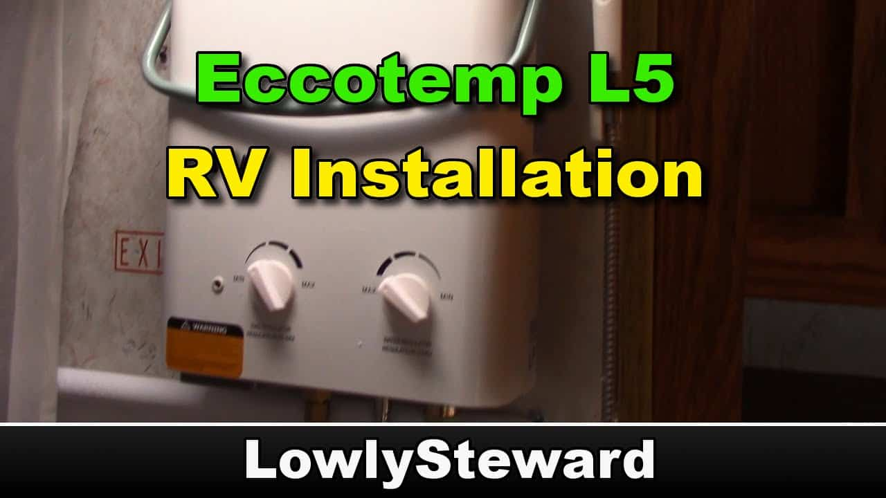 RV Tankless Water Heater
