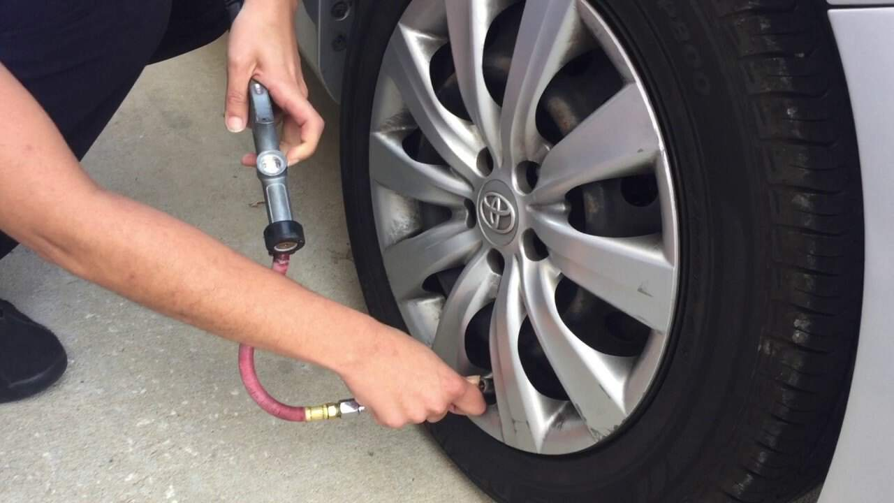 Monitor your Tire Pressure