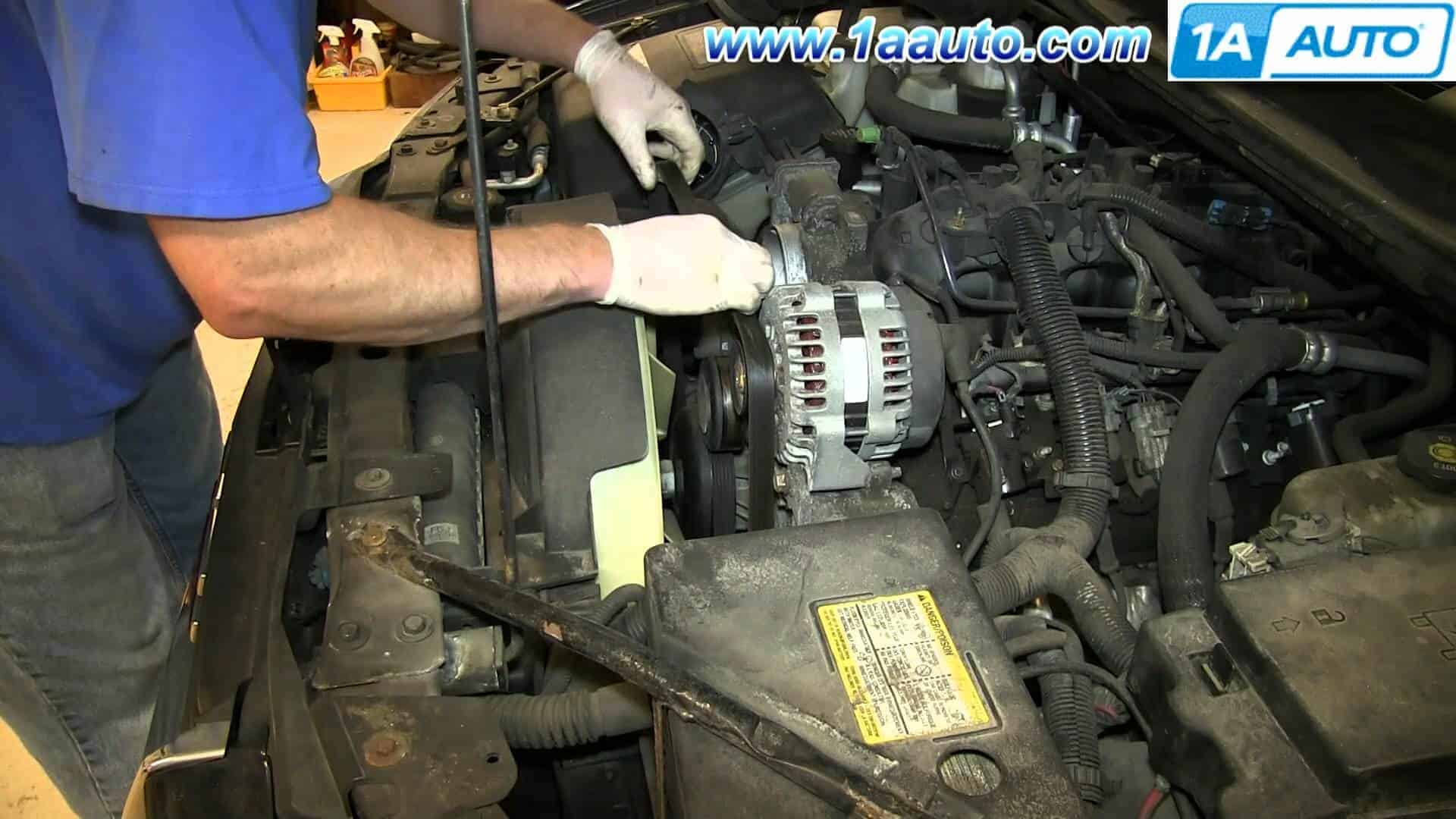 Replace a Fan Clutch