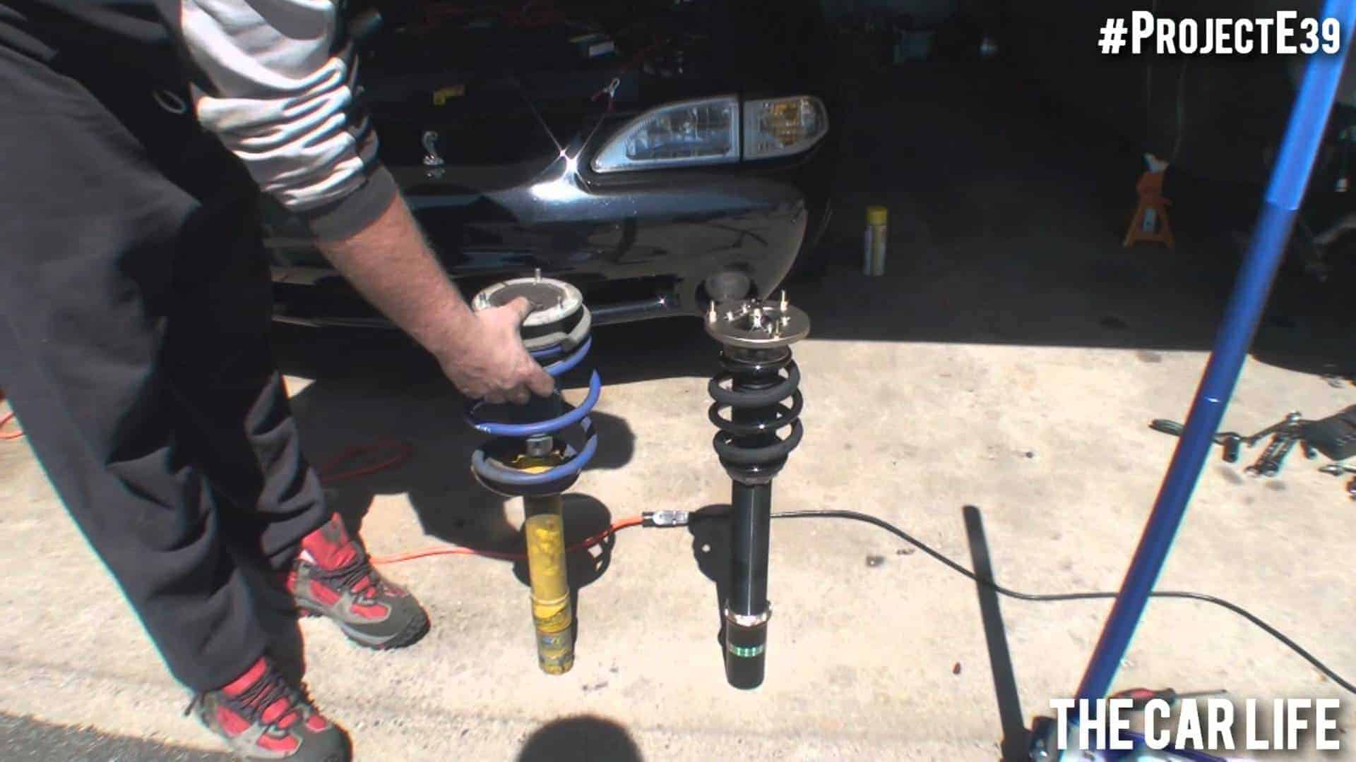 Install Coilovers in your Car