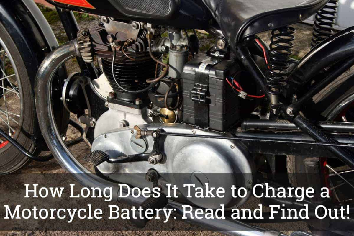 How Long Does It Take to Charge a Motorcycle Battery: Read