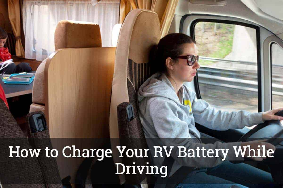 how to charge rv battery