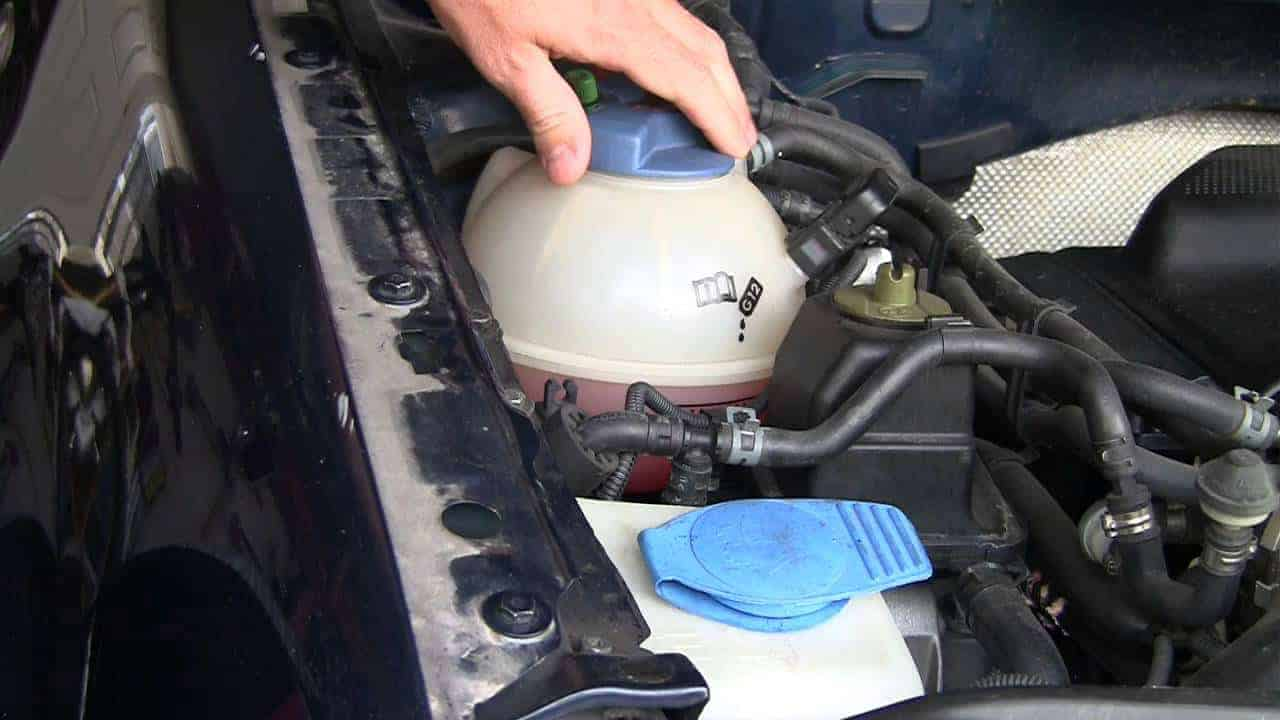 Check Engine Coolant Level