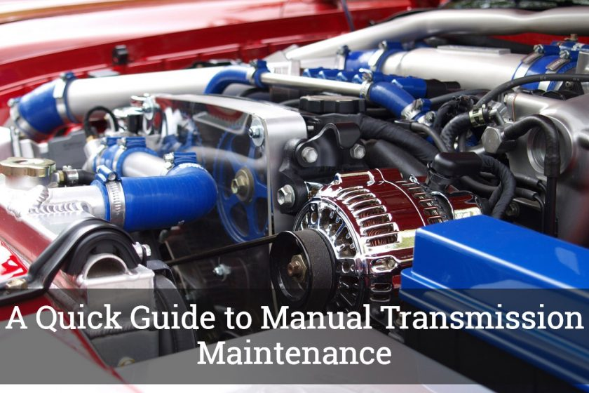 Manual Transmission Maintenance
