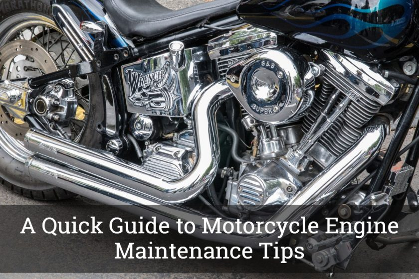 Motorcycle Engine Maintenance Tips