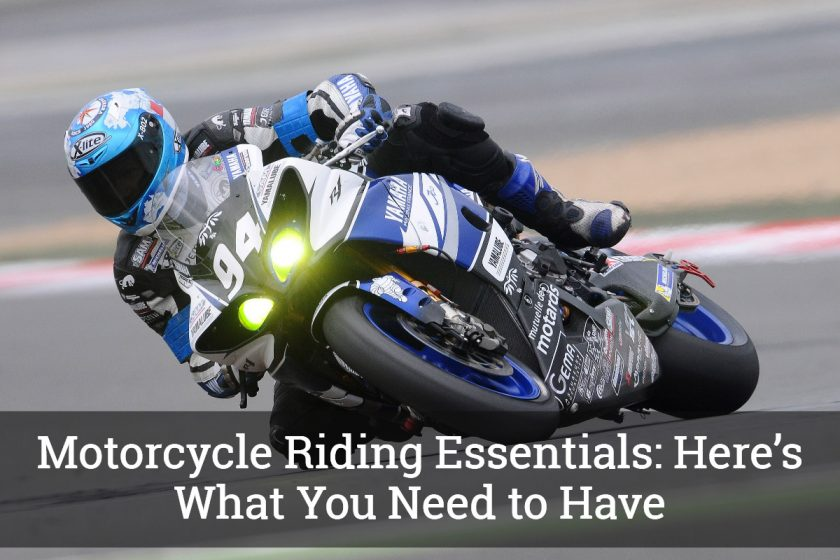 Motorcycle Riding Essentials