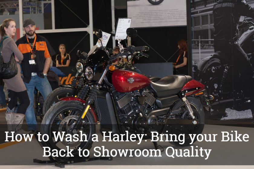 How to Wash a Harley
