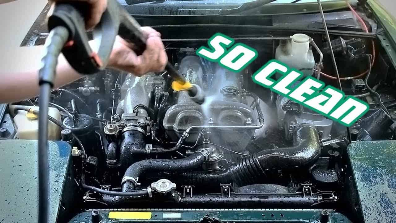Tips on Washing Your Car's Engine Area