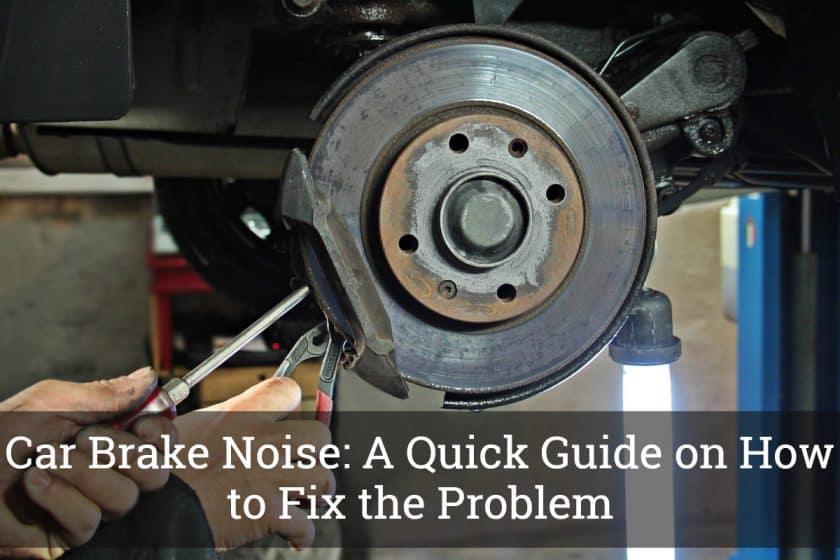 Car Brake Noise
