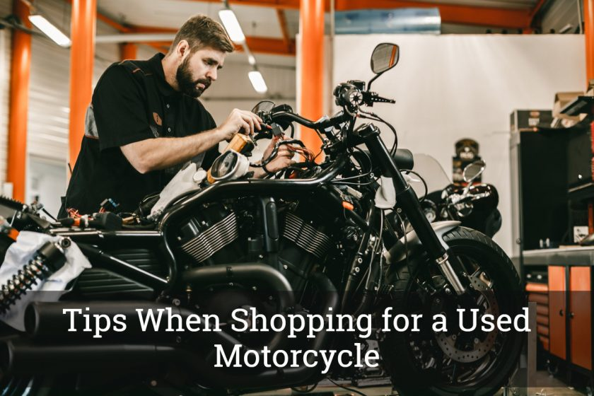 Tips When Shopping for a Used Motorcycle
